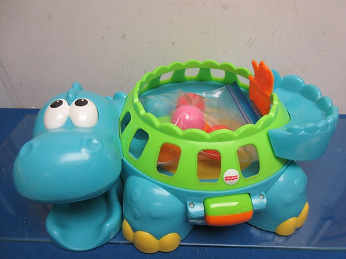 Fisher Price go baby go turtle popper ball toy