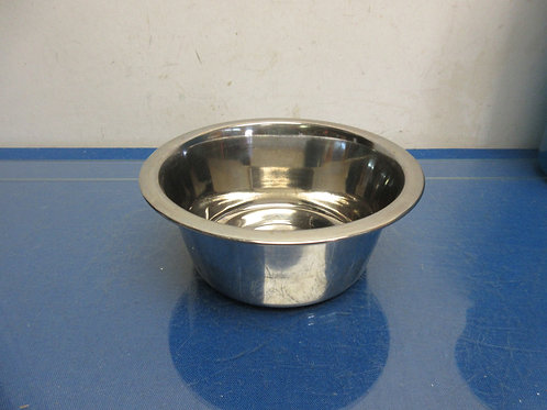 Small stainless dog bowl