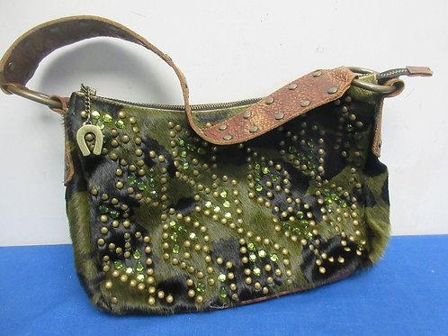 Bejeweled hobo bag style purse