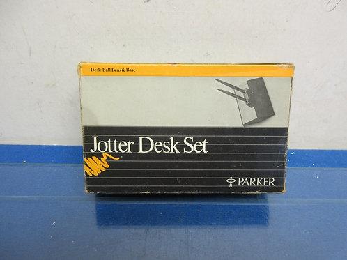 Parker Jotter double pen desk set-tested pens & work