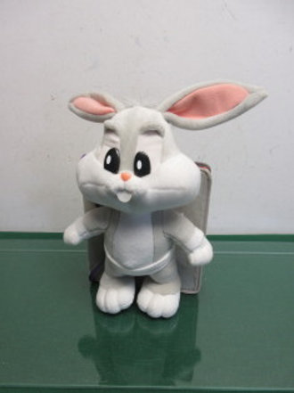 Baby Bugs Bunny story book with stuffed bunny, new