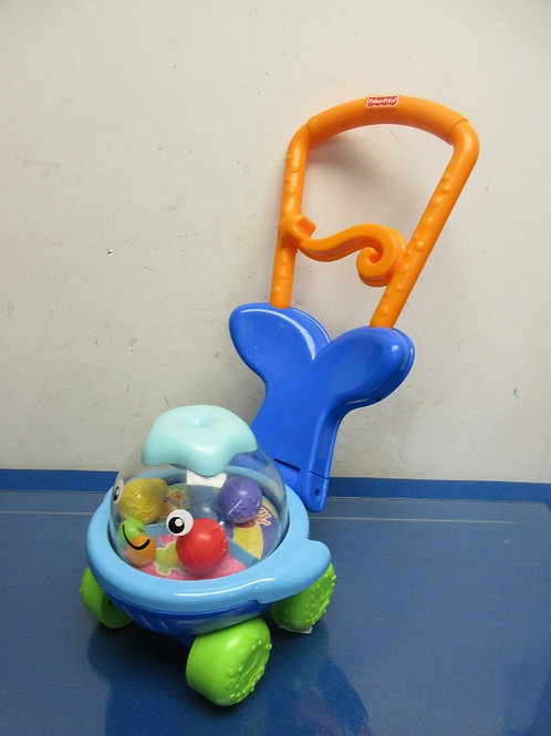 Fisher Price ocean wonders push n whirl whale