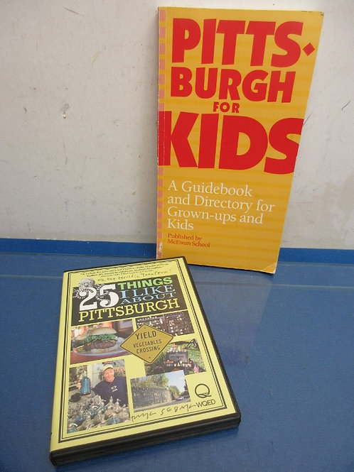 DVD-25 Things I like about Pittsburgh, & a book Pittsburgh for Kids