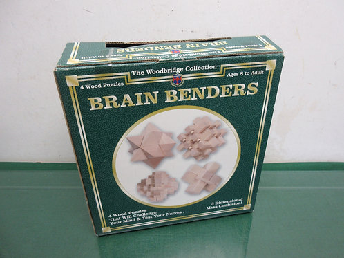Wood Bridge Collection, brain bender wood puzzle, ages 8 to adult