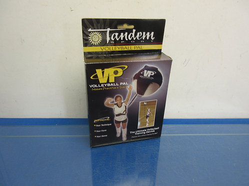 Tandem sport volleyball pal-the ultimate volleyball training device