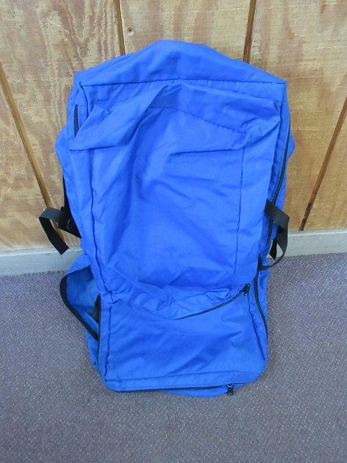 Large blue hikers back pack