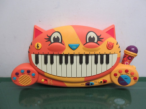 Toysmith B. Meowsic keyboard-makes various sounds