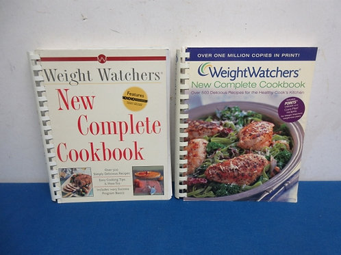 Pair of weight watcher new complete cookbooks