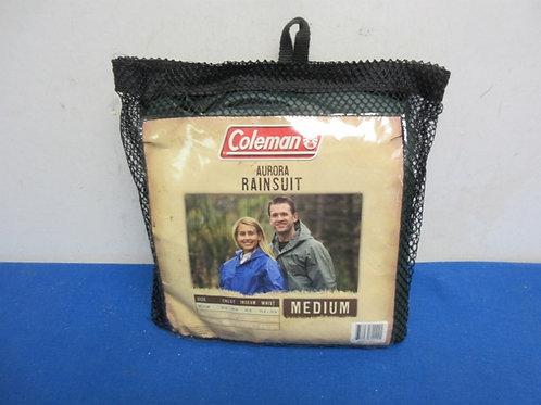 Coleman auroa rainsuit- size med.