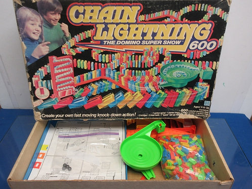 Vintage chain lightning game - domino style super show
