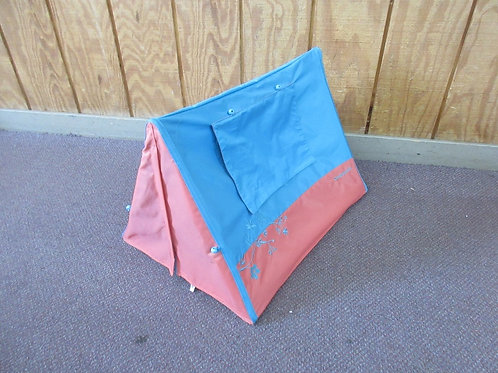American Girl sunset blue and pink sleepover tent