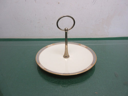 Lenox Presidential Collection, small serving plate with connected handle