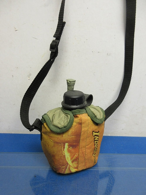 Indiana Jones toy canteen with carry bag