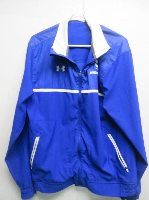 South Park UnderArmor, blue basketball jacket, size large