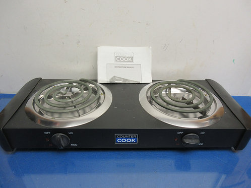 Couner Cook double burner counter top hot plate