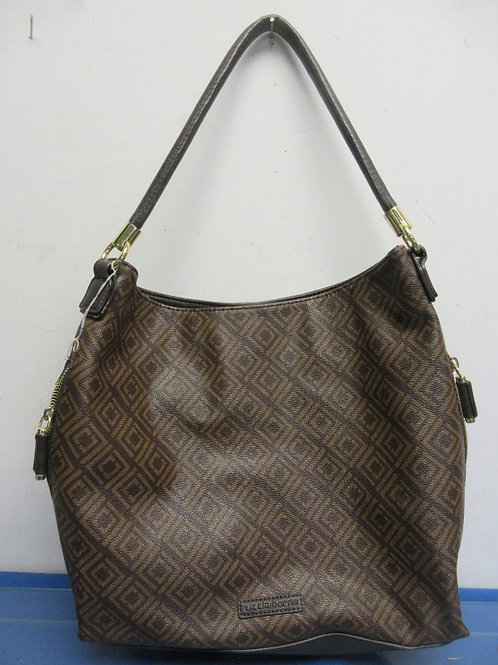 Liz Claiborne brown and tan leather pure