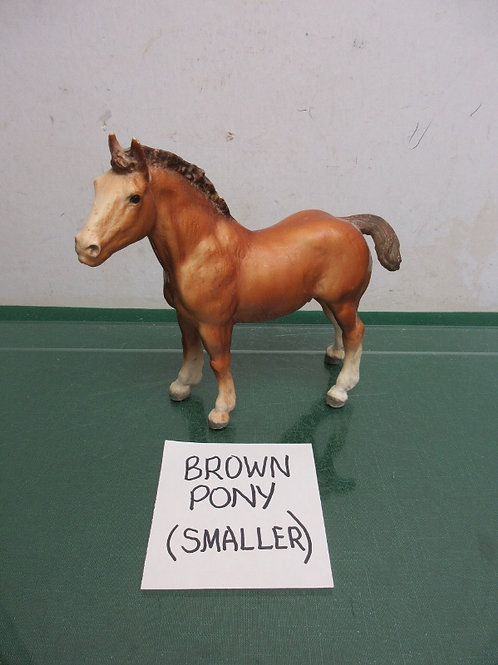 Breyer Horse USA - vintage brown with brown mane & tail pony