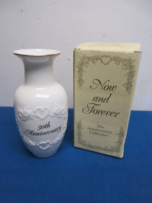 Now and Forever, 50th Anniversary vase