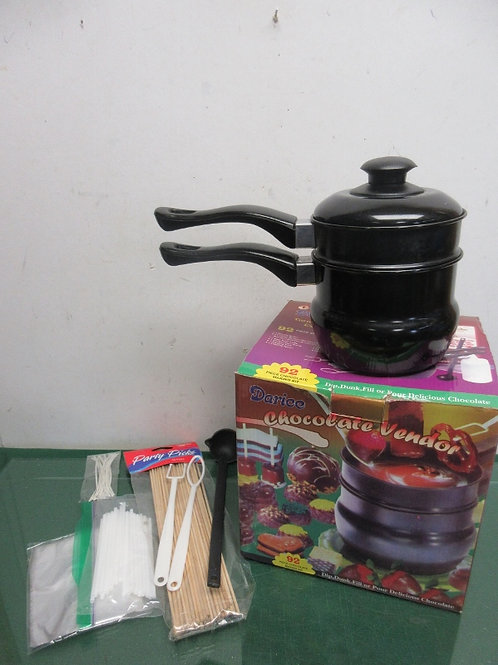 Darice candy making kit-small double boiler & assorted accessories