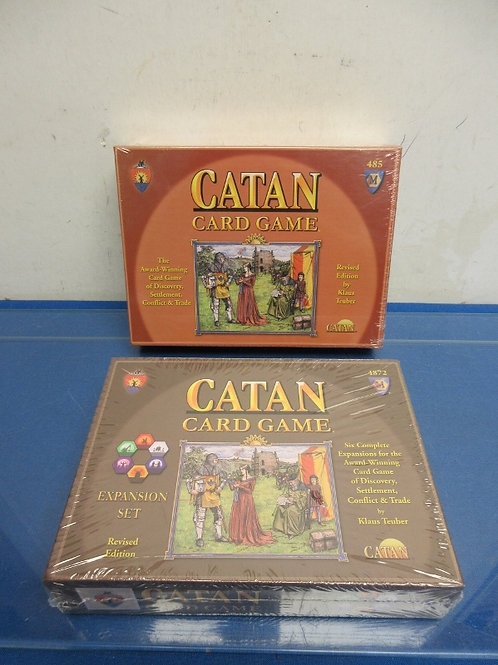 Catan card game & expansion set, ages 10 & up