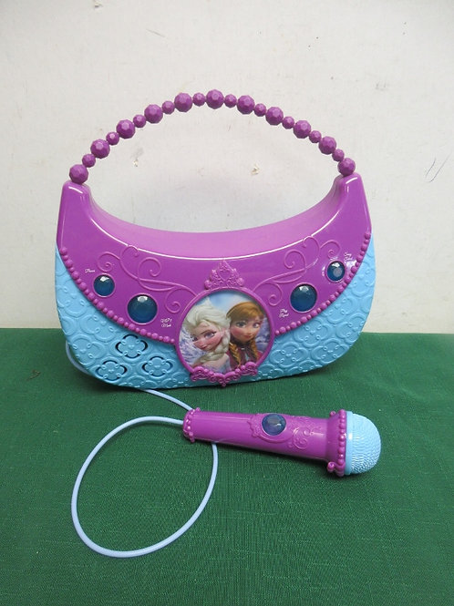 Disney frozen sing along boom box, can connect MP3