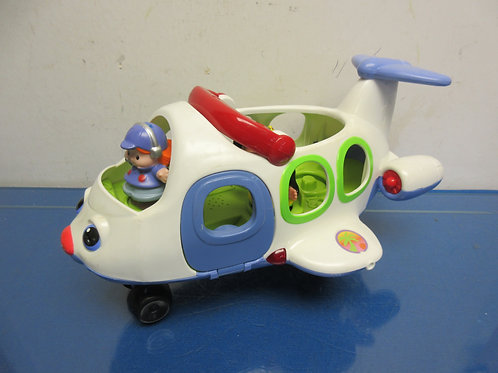 Fisher Price little people airplane with 3 people