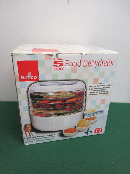 Ronco deluxe 5 tray food dehydrator