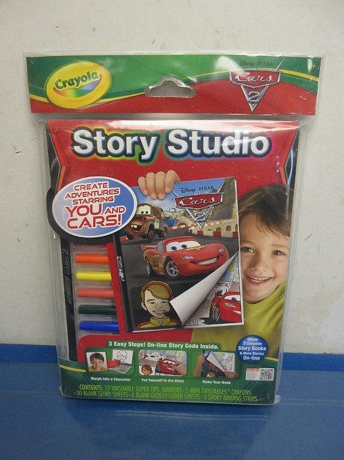 Crayola story studio, Pixar Cars 2-book kit