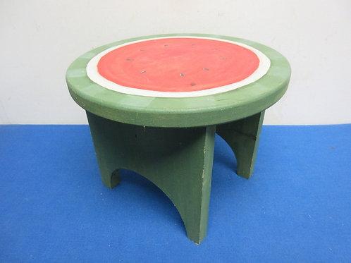 Small bench watermelon design top