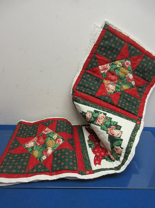 Quilted holiday 6ft table runners