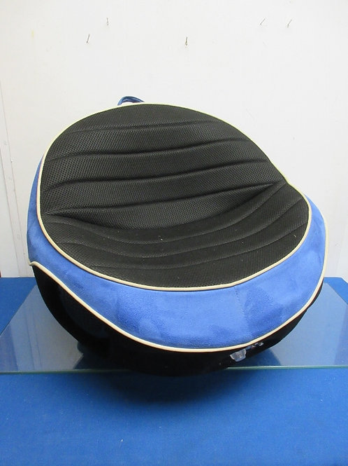 Boom Pod blue and black small round gaming chair - 2 avail