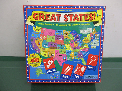 Great States game ages 7 and up