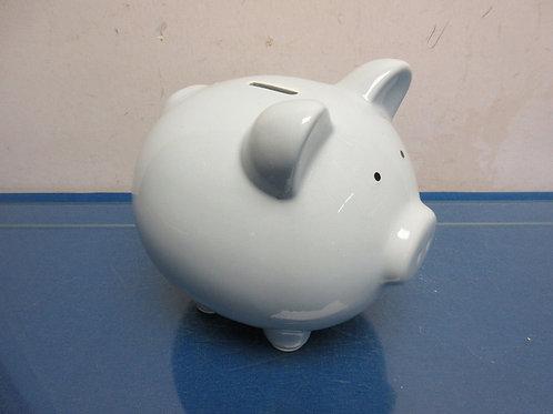 Ceramic light gray piggy bank