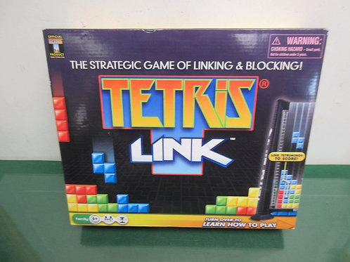 Tetris Link, the strategic game of linking& blocking, ages 6 & up