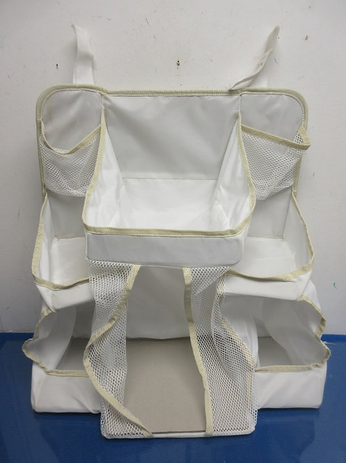 DexBaby white plastic diaper caddy
