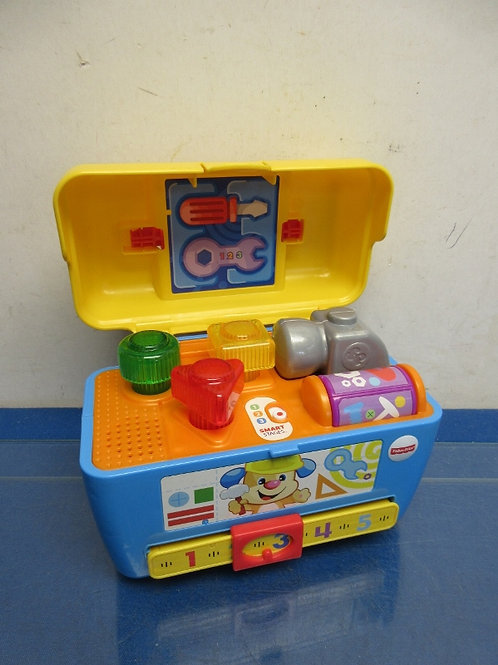 Fisher Price Laugh & Learn smart stages tool box - talks and plays music