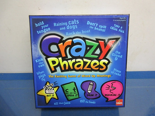 Goliath Crazy Phrazes - 2 or more players - ages 8+