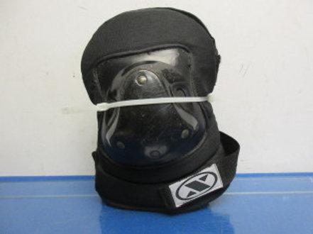 Black skaters knee pads