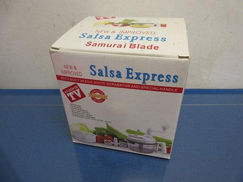 Salsa express with samurai blade in box