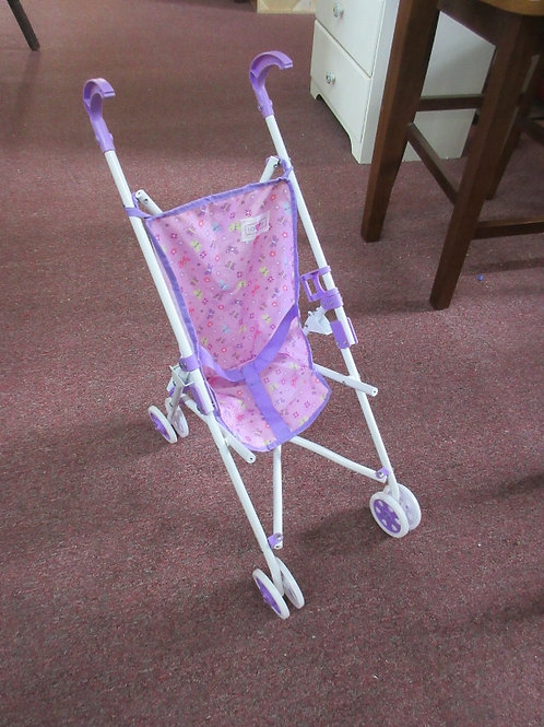 You and Me purple and white baby doll stroller