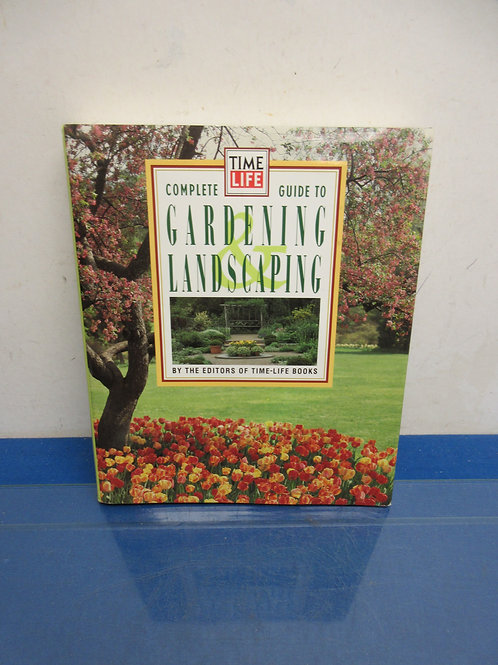Coffee table book, Time/Life guide to gardening & landscape
