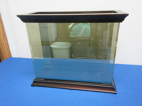 """Partylite 6 candle glass holder with beveled glass 6x14x12""""high  -   New"""