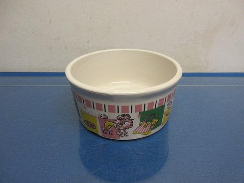 Ceramic pet food or water bowl