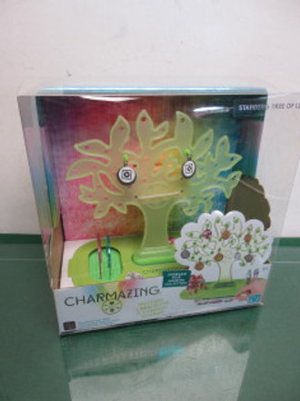 Charmazing standing tree of life jewelry holder, new in box