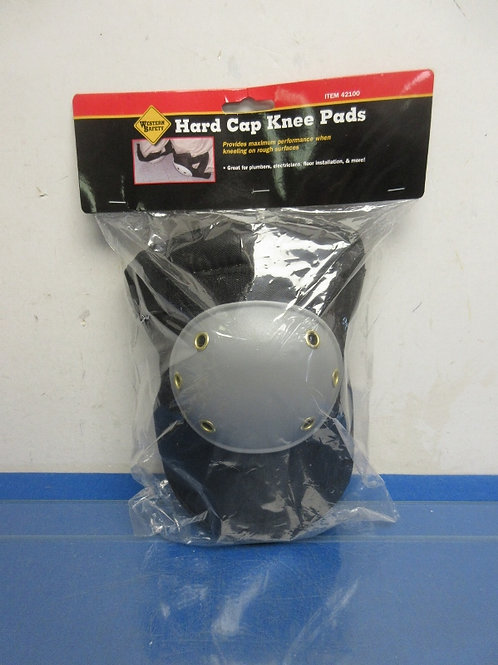 Western Safety hard knee cap pads, New