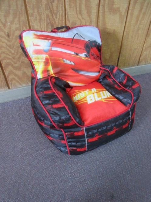 Disney Lightning McQueen children's style bean bag chair