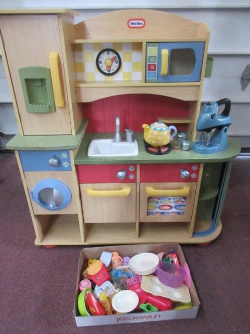 LittleTikes kitchen, washer, fridge, dishwasher, oven and accessories