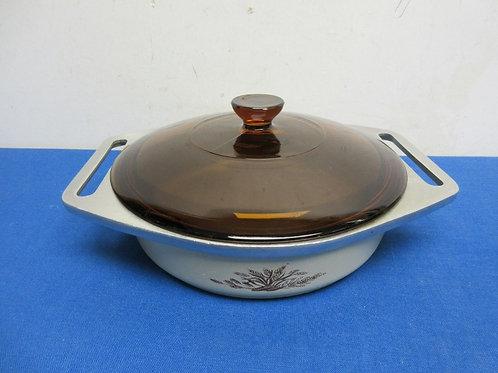 Small Club aluminum casserol with lid, wear