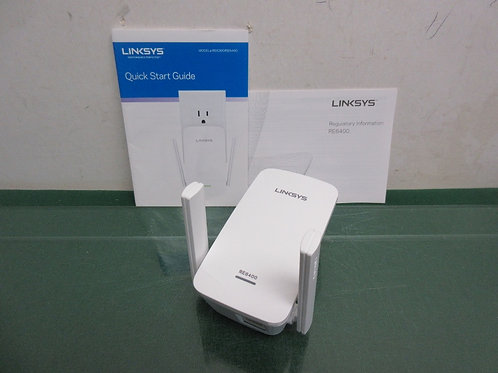 Linskys wireless plug in Wifi extender with booklet