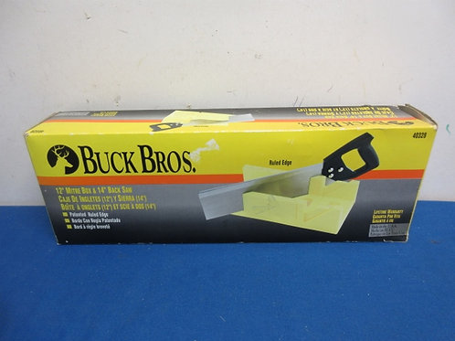 Buck bros mitre bos and saw, in box